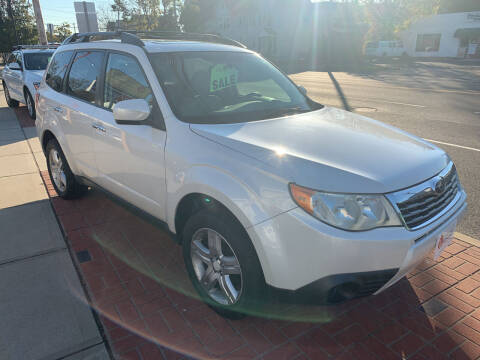 2010 Subaru Forester for sale at Viscuso Motors in Hamden CT