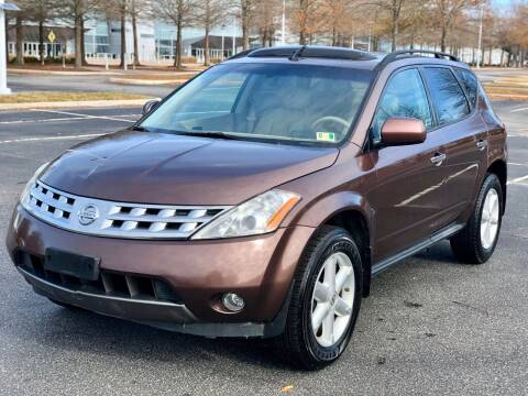 2004 Nissan Murano for sale at Supreme Auto Sales in Chesapeake VA