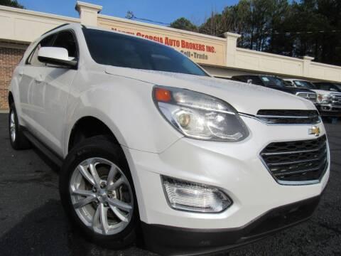 2016 Chevrolet Equinox for sale at North Georgia Auto Brokers in Snellville GA