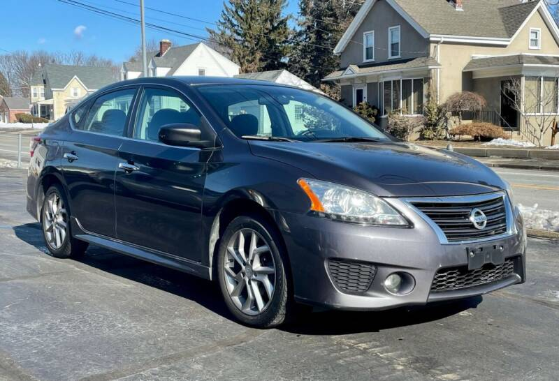 2014 Nissan Sentra for sale at FAMILY AUTO SALES, INC. in Johnston RI
