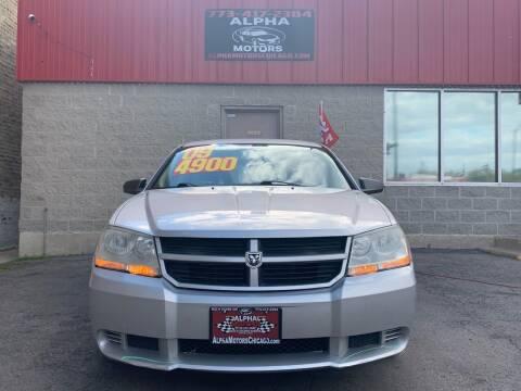 2009 Dodge Avenger for sale at Alpha Motors in Chicago IL