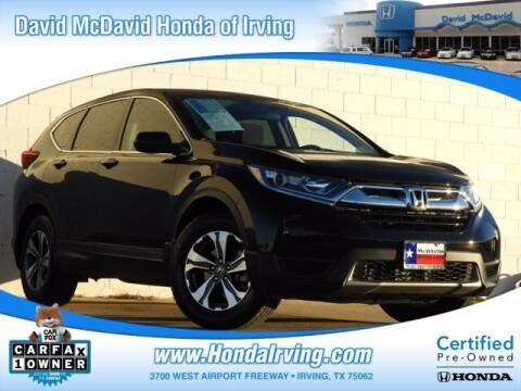 2019 Honda CR-V for sale at DAVID McDAVID HONDA OF IRVING in Irving TX