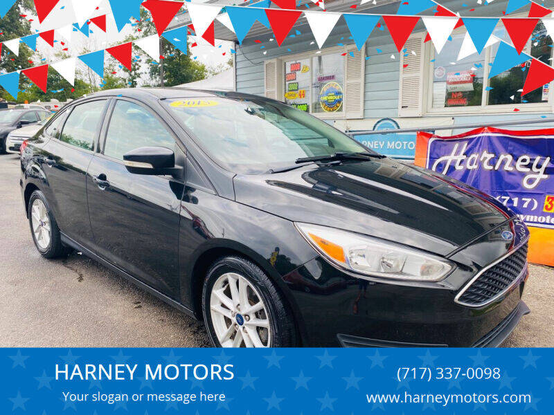 2015 Ford Focus for sale at HARNEY MOTORS in Gettysburg PA