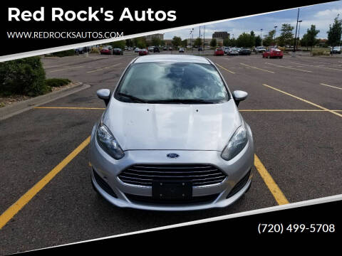 2018 Ford Fiesta for sale at Red Rock's Autos in Denver CO