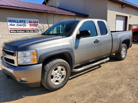 2008 Chevrolet Silverado 1500 for sale at Hollatz Auto Sales in Parkers Prairie MN