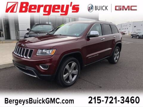 2016 Jeep Grand Cherokee for sale at Bergey's Buick GMC in Souderton PA