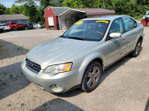 2006 Subaru Outback for sale at Clare Auto Sales, Inc. in Clare MI