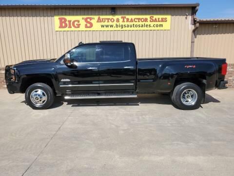 2018 Chevrolet Silverado 3500HD for sale at BIG 'S' AUTO & TRACTOR SALES in Blanchard OK