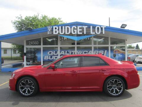 2016 Chrysler 300 for sale at THE BUDGET LOT in Detroit MI