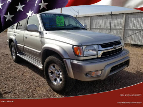 2001 Toyota 4Runner for sale at 48TH STATE AUTOMOTIVE in Mesa AZ