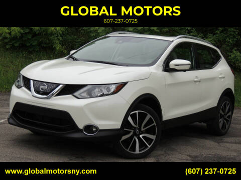 2018 Nissan Rogue Sport for sale at GLOBAL MOTORS in Binghamton NY