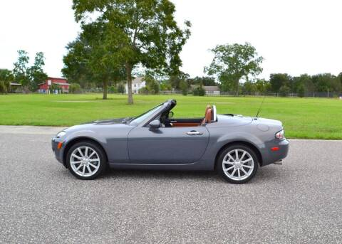 2008 Mazda MX-5 Miata for sale at P J'S AUTO WORLD-CLASSICS in Clearwater FL