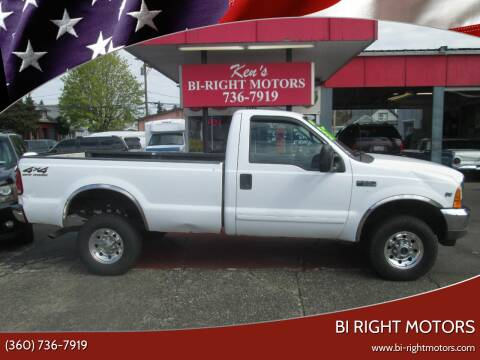 2001 Ford F-350 Super Duty for sale at Bi Right Motors in Centralia WA