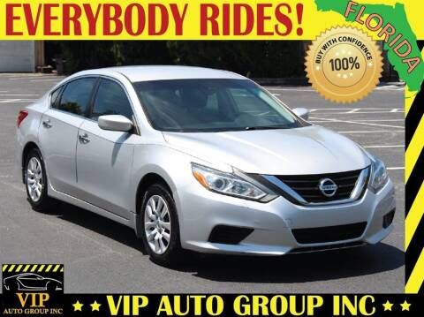 2016 Nissan Altima for sale at VIP Auto Group in Clearwater FL