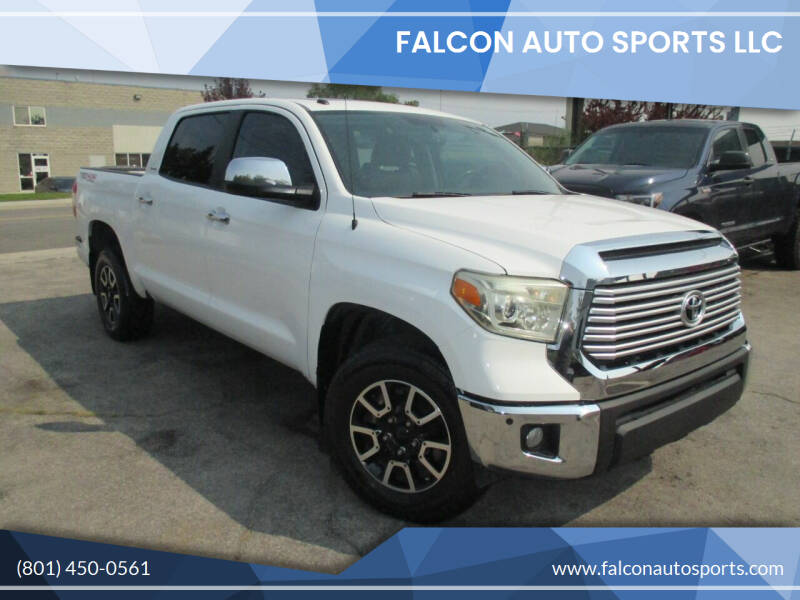2014 Toyota Tundra for sale at Falcon Auto Sports LLC in Murray UT