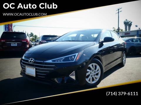 2019 Hyundai Elantra for sale at OC Auto Club in Midway City CA