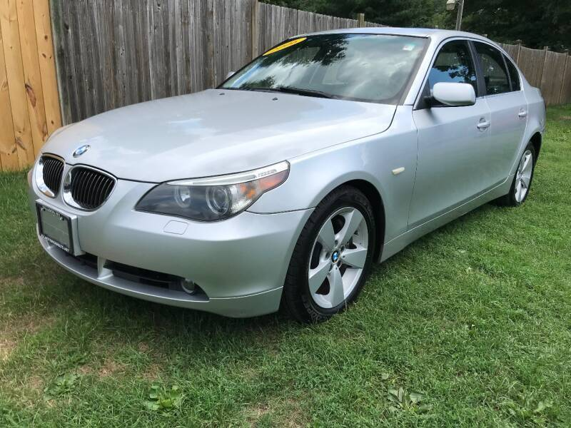 2007 BMW 5 Series for sale at ALL Motor Cars LTD in Tillson NY