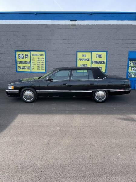 1996 Cadillac DeVille for sale at BIG #1 INC in Brownstown MI