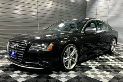 2013 Audi S8 for sale at TRUST AUTO in Sykesville MD