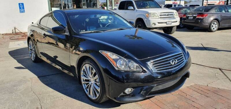 2013 Infiniti G37 Coupe for sale at Auto Land in Ontario CA