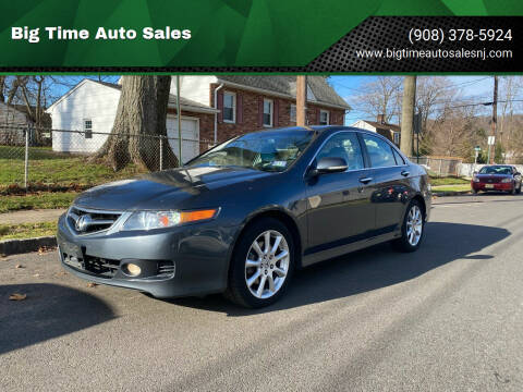 2006 Acura TSX for sale at Big Time Auto Sales in Vauxhall NJ