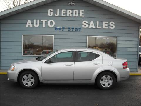 2010 Dodge Avenger for sale at GJERDE AUTO SALES in Detroit Lakes MN