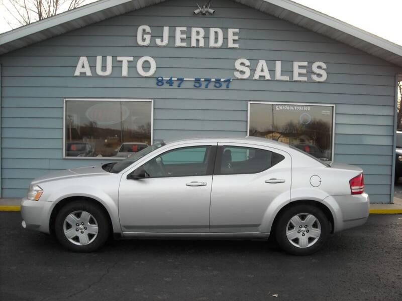 2010 Dodge Avenger for sale at GJERDE AUTO SALES in Detroit Lakes MN