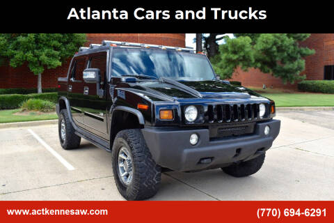 2006 HUMMER H2 SUT for sale at Atlanta Cars and Trucks in Kennesaw GA