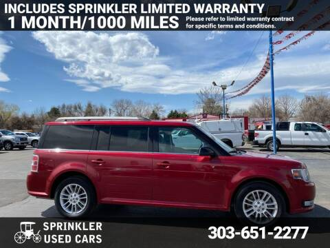 2014 Ford Flex for sale at Sprinkler Used Cars in Longmont CO