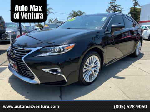 2016 Lexus ES 350 for sale at Auto Max of Ventura in Ventura CA