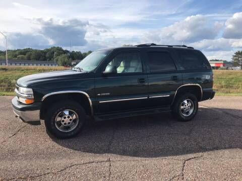 2001 Chevrolet Tahoe for sale at BLAESER AUTO LLC in Chippewa Falls WI