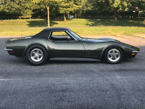1971 Chevrolet Corvette for sale at McQueen Classics in Lewes DE