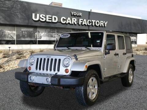 2009 Jeep Wrangler Unlimited for sale at JOELSCARZ.COM in Flushing MI
