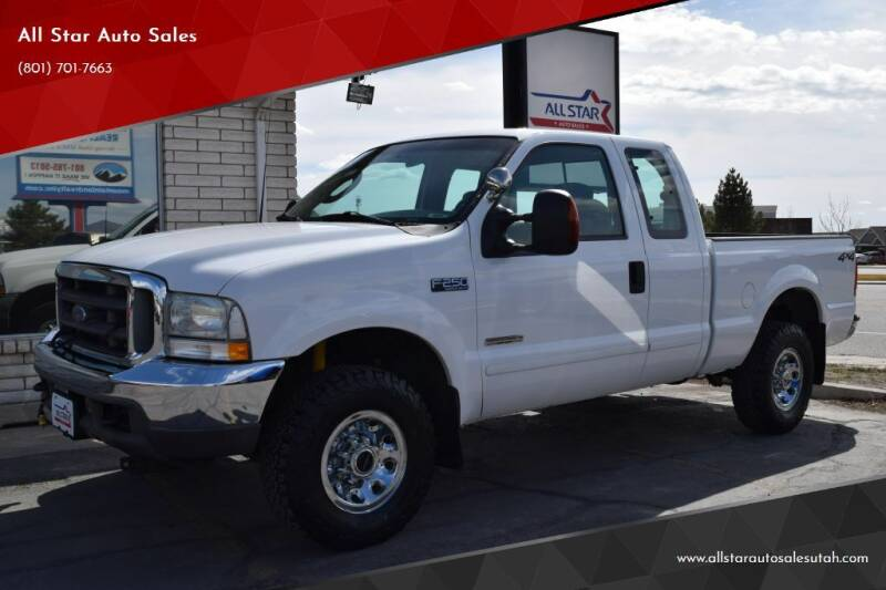2003 Ford F-250 Super Duty for sale at All Star Auto Sales in Pleasant Grove UT