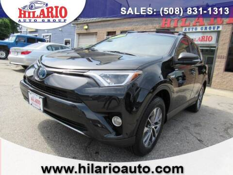 2017 Toyota RAV4 Hybrid for sale at Hilario's Auto Sales in Worcester MA