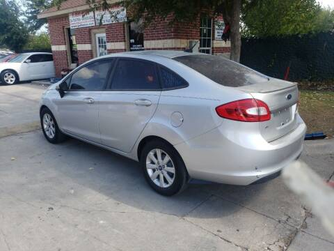 2011 Ford Fiesta for sale at El Jasho Motors in Grand Prairie TX