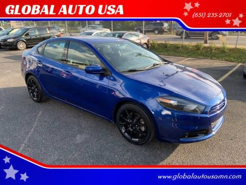 2013 Dodge Dart for sale at GLOBAL AUTO USA in Saint Paul MN