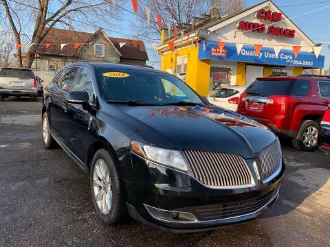 2014 Lincoln MKT for sale at C & M Auto Sales in Detroit MI