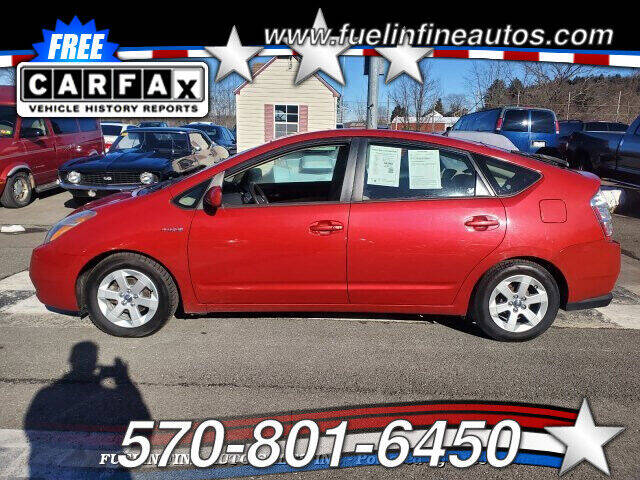 2006 Toyota Prius for sale at FUELIN FINE AUTO SALES INC in Saylorsburg PA