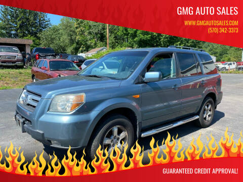 2006 Honda Pilot for sale at GMG AUTO SALES in Scranton PA