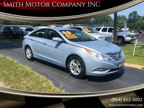 2013 Hyundai Sonata for sale at Smith Motor Company INC in Mc Cormick SC