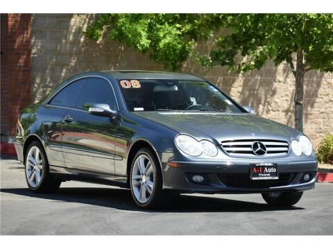 2008 Mercedes-Benz CLK for sale at A-1 Auto Wholesale in Sacramento CA