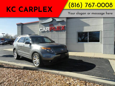 2013 Ford Explorer for sale at KC Carplex in Grandview MO