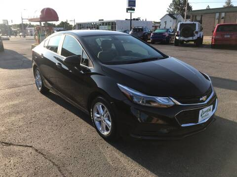 2017 Chevrolet Cruze for sale at Carney Auto Sales in Austin MN