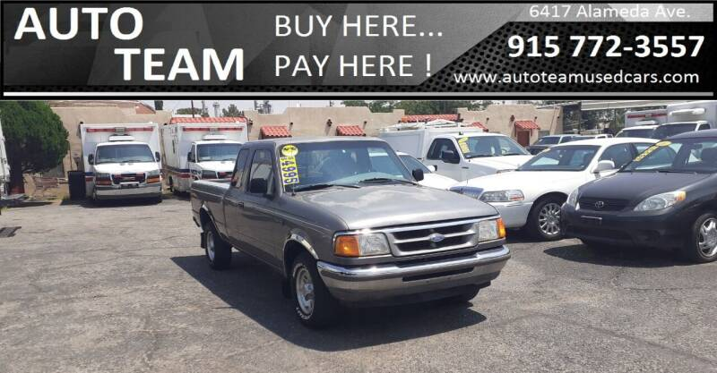 1997 Ford Ranger for sale at AUTO TEAM in El Paso TX