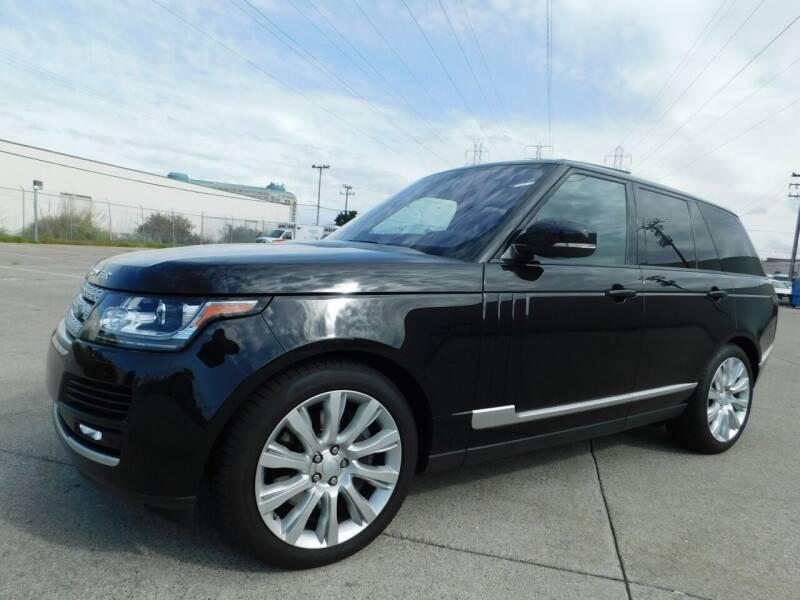 2017 Land Rover Range Rover for sale at Conti Auto Sales Inc in Burlingame CA