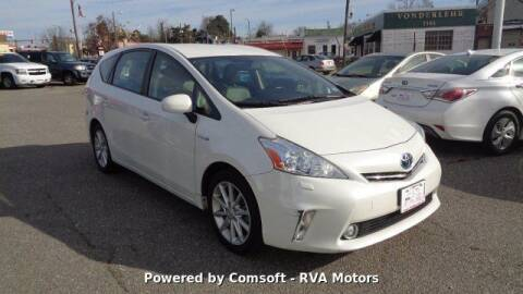 2013 Toyota Prius v for sale at RVA MOTORS in Richmond VA