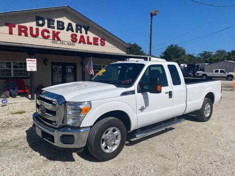 2016 Ford F-250 Super Duty for sale at DEBARY TRUCK SALES in Sanford FL