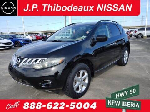 2010 Nissan Murano for sale at J P Thibodeaux Used Cars in New Iberia LA