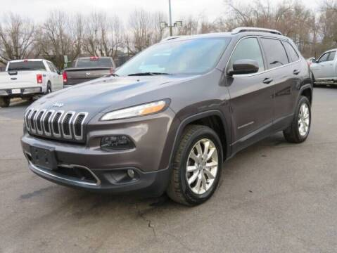 2017 Jeep Cherokee for sale at Low Cost Cars in Circleville OH